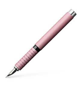 Faber-Castell - Essentio Aluminium fountain pen, EF, rose