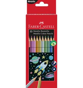 Faber-Castell - Classic Colour colour pencils, cardboard wallet of 10