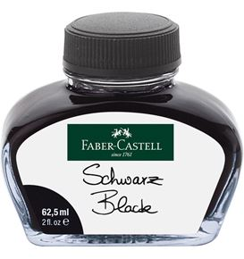 Faber-Castell - Ink bottle, 62.5 ml, ink black