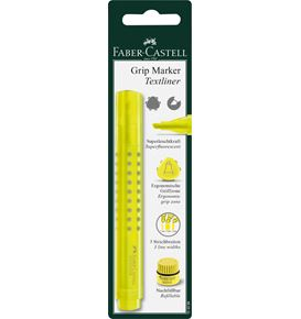 Faber-Castell - Highlighter Grip 1543 yellow