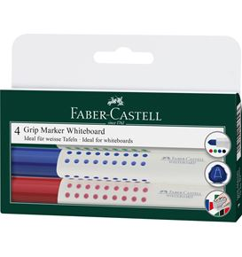 Faber-Castell - Whiteboard marker Grip 1583 set of 4