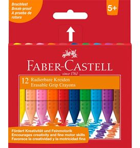 Faber-Castell - Plastic Grip crayons box 12x