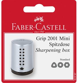 Faber-Castell - Grip Mini sharpening box, set of 1, silver