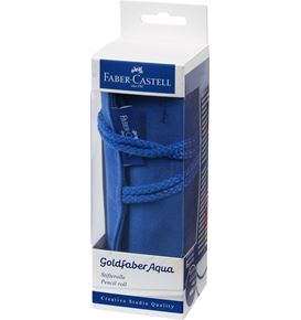 Faber-Castell - Goldfaber Aqua watercolour pencil, pencil roll, 30 pieces