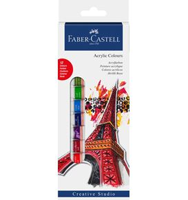 Faber-Castell - Starter set acrylic colours 12ct box