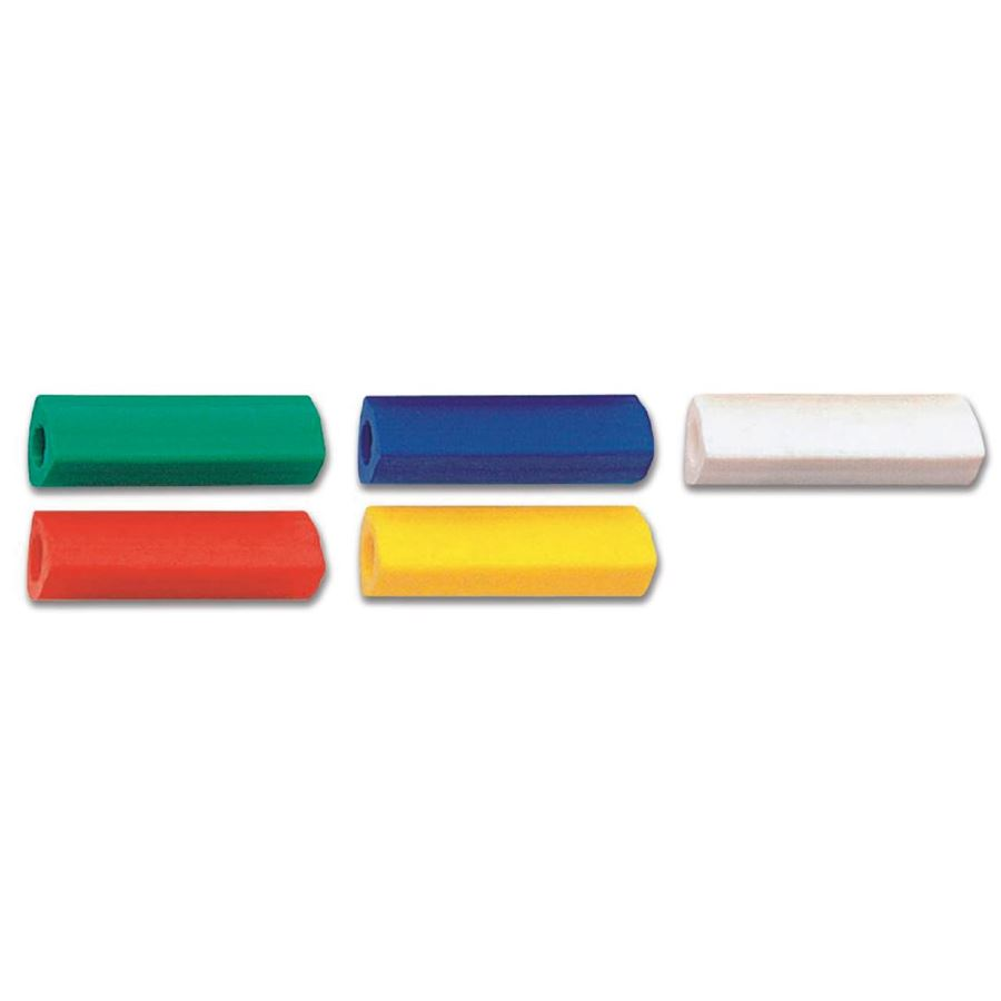 Faber-Castell - Eraser, triangular, slip-on, sorted colours