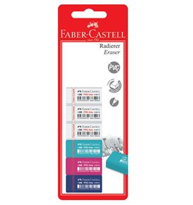 Faber-Castell - 7086-40 eraser, set of 6