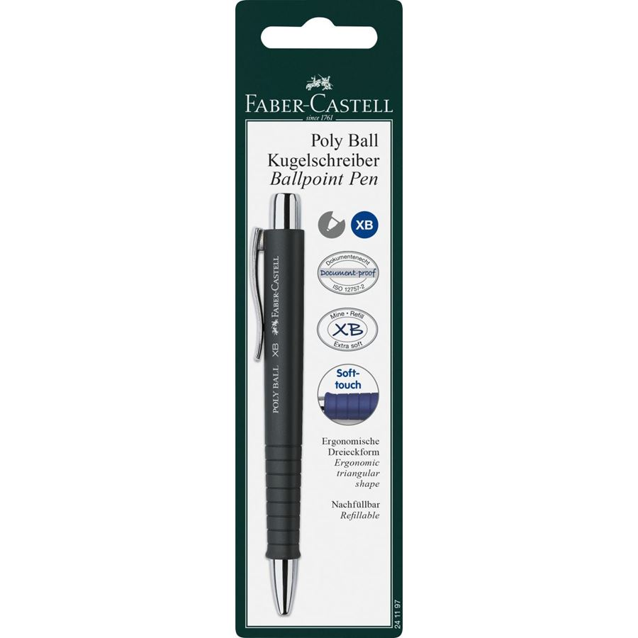 Faber-Castell - Poly Ball ballpoint pen, M, classic