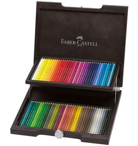 Faber-Castell - Polychromos colour pencil, wooden case of 72