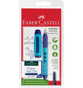 Faber-Castell - Fountain pen Scribolino left