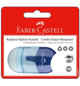 Faber-Castell - Mini eraser-sharpener combi, set of 1, pink