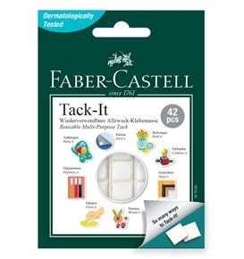 Faber-Castell - Tack-it adhesive, 30 g, white