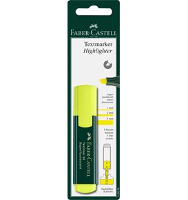 Faber-Castell - Textliner 48 Superfluorescent, blister card of 1, yellow