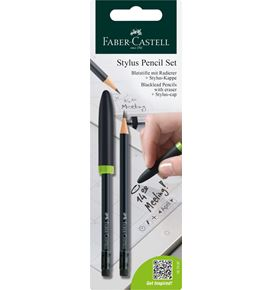 Faber-Castell - Stylus pencil graphite pencil, set of 1